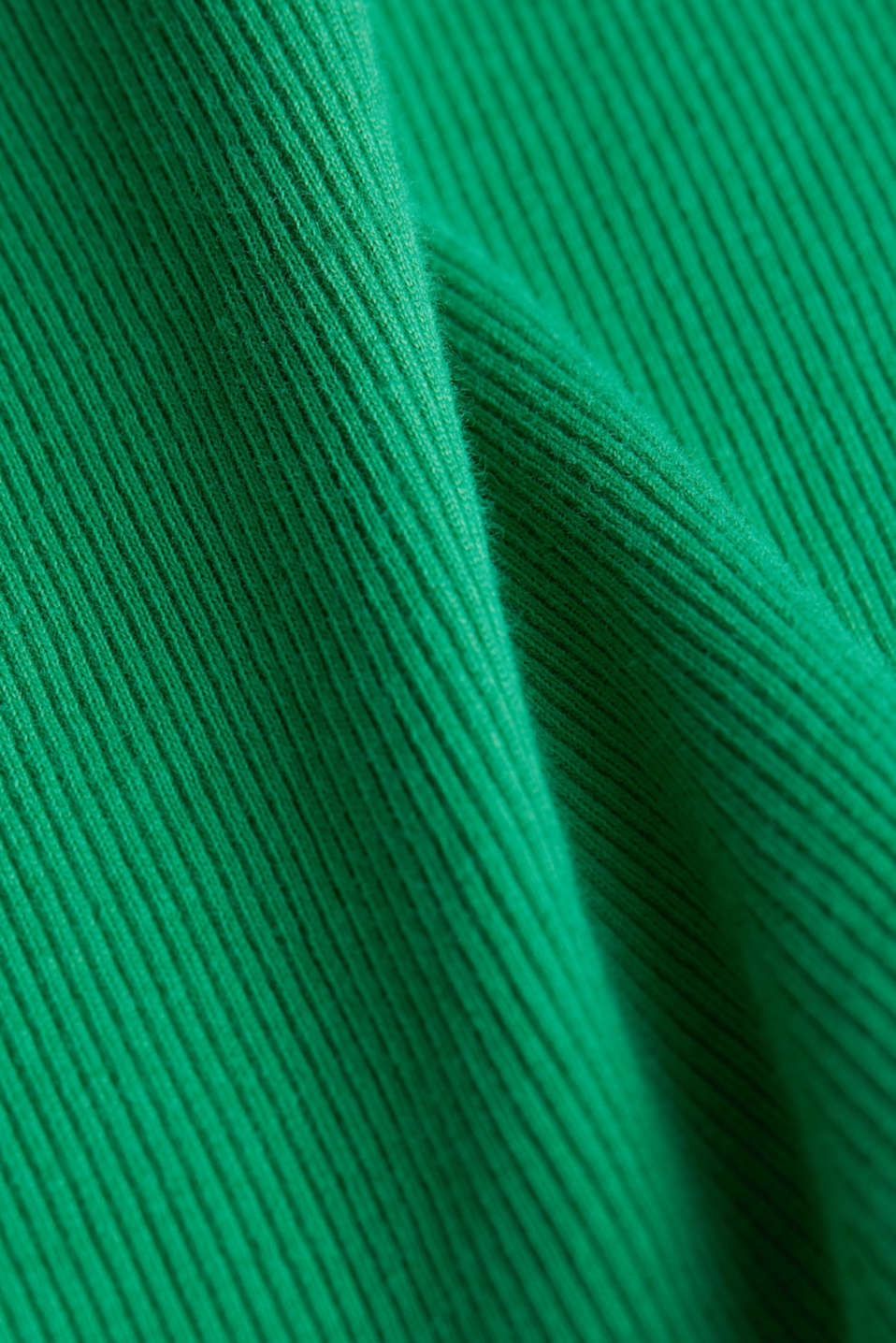 Ribbed jersey sleeveless top, GREEN, detail image number 4