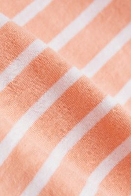 Recycled: T-shirt with organic cotton, SALMON, detail