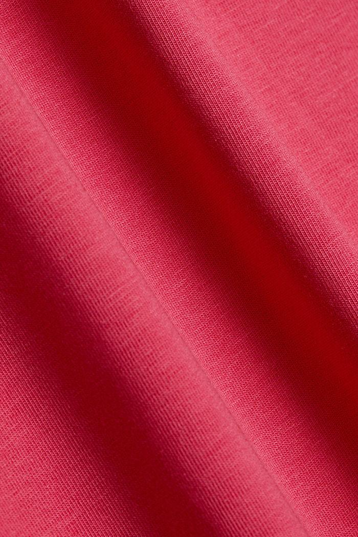 Organic cotton sleeveless top, BLUSH, detail image number 4