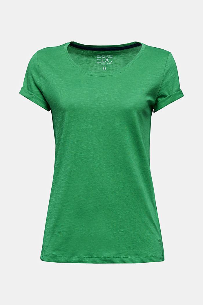 Jersey-Shirt aus 100% Organic Cotton