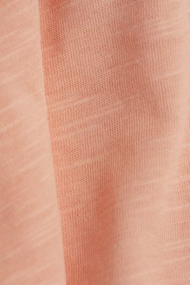 Jersey top made of 100% organic cotton, SALMON 4, detail