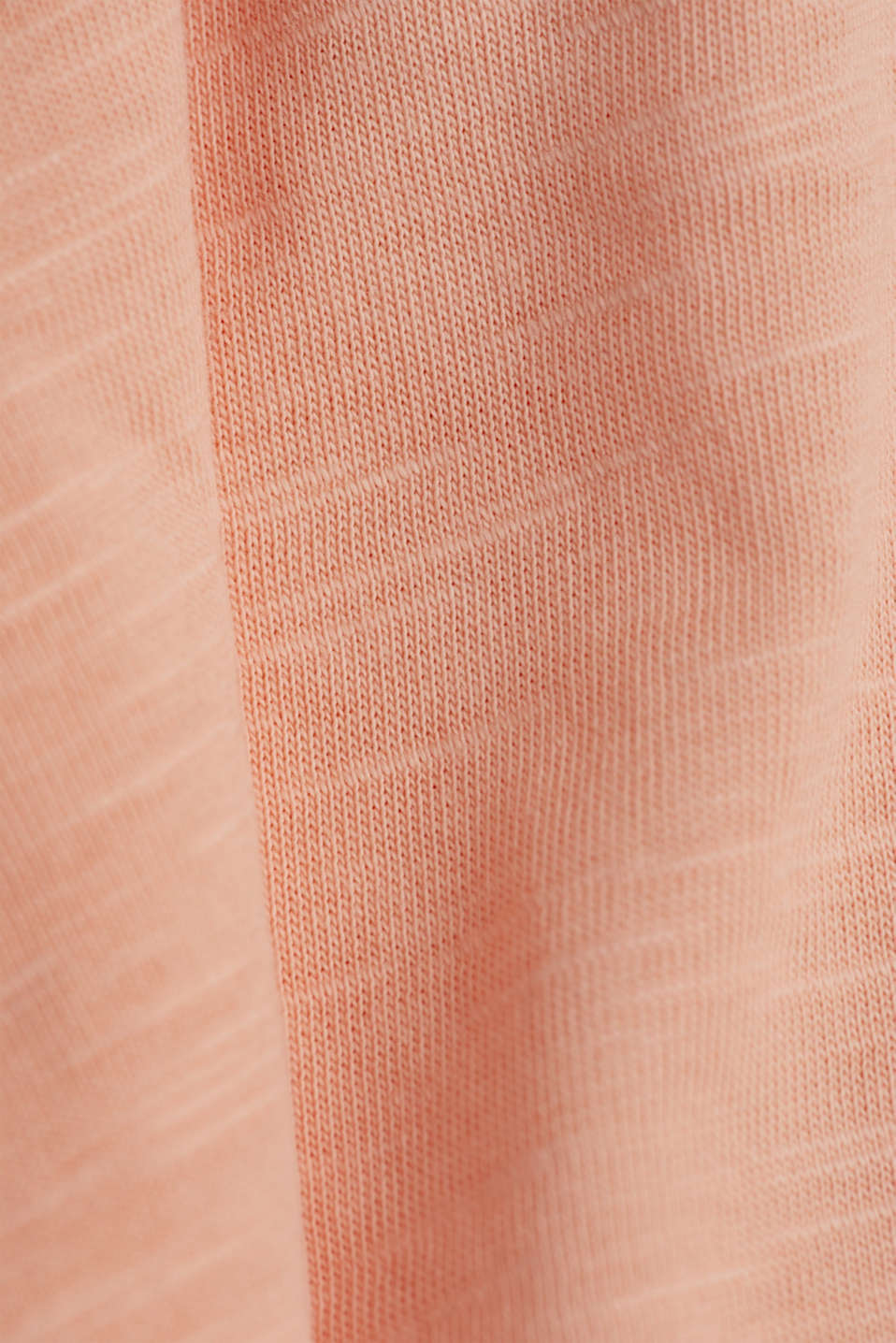 Jersey top made of 100% organic cotton, SALMON 4, detail image number 4
