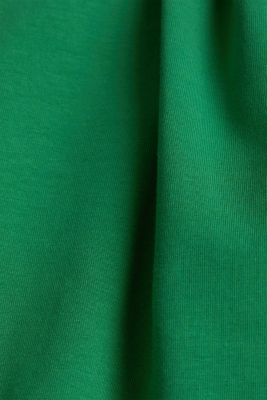 T-shirt with a square neckline, GREEN, detail
