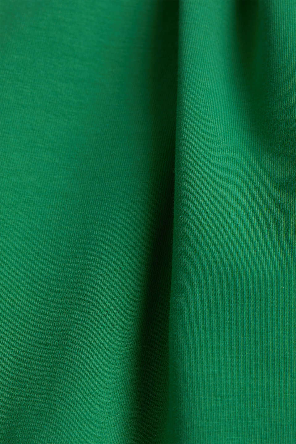 T-shirt with a square neckline, GREEN, detail image number 4