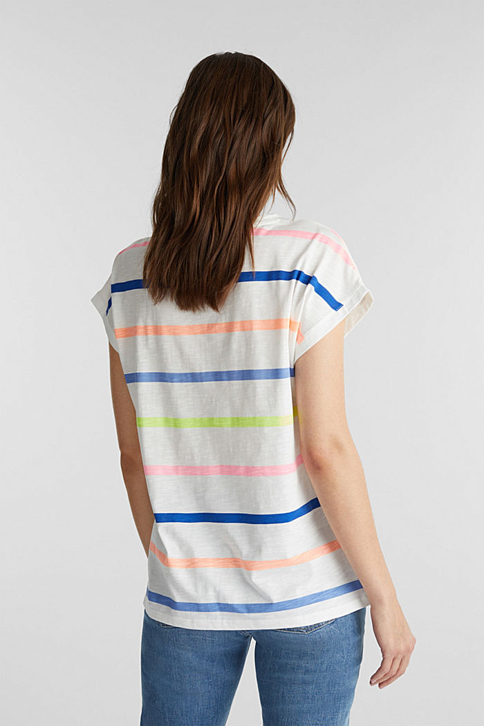 Jersey-Shirt aus 100% Organic Cotton, OFF WHITE, detail image number 3
