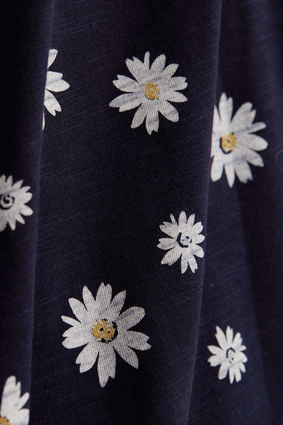 Print T-shirt, 100% organic cotton, NAVY, detail image number 4