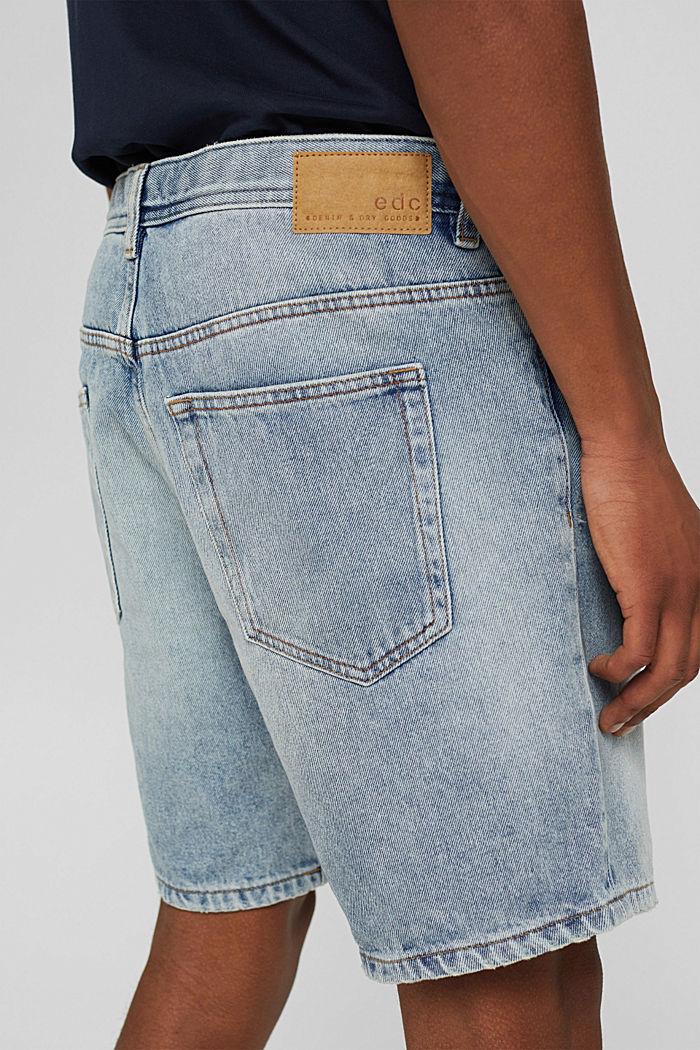 Denim Shorts, BLUE LIGHT WASHED, detail image number 2