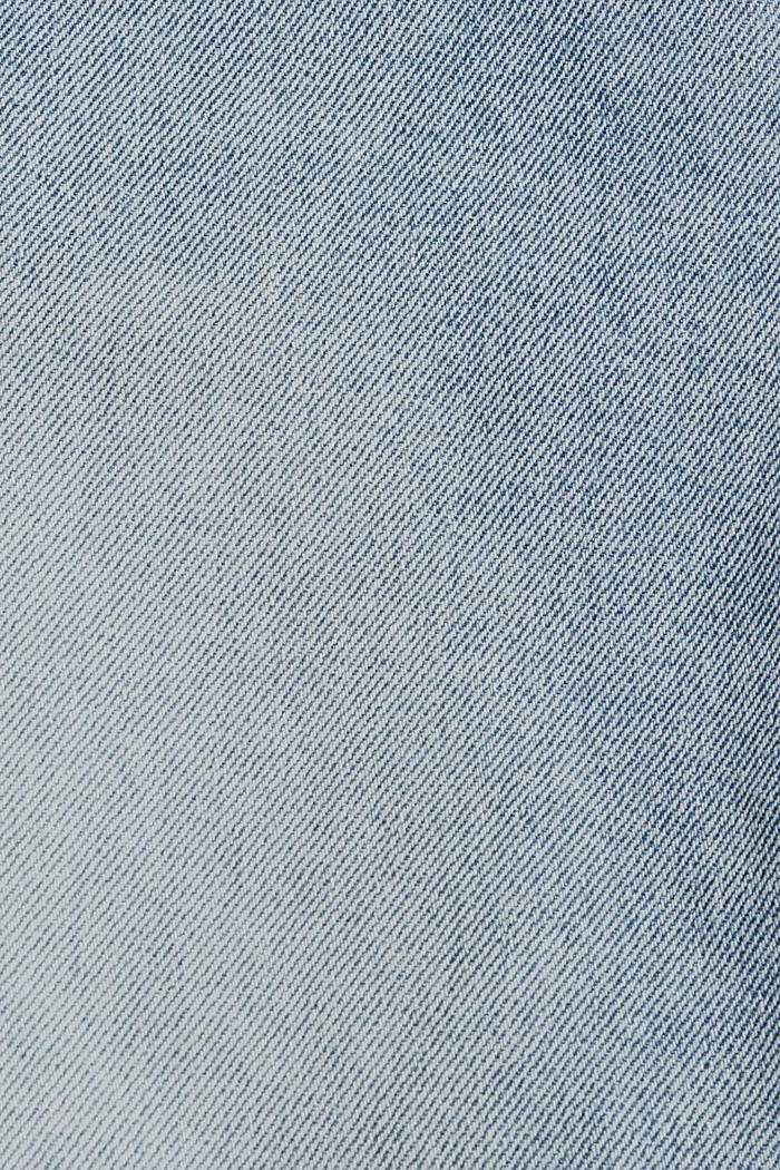 Denim Shorts, BLUE LIGHT WASHED, detail image number 4