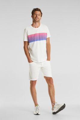 Jersey T-shirt made of 100% organic cotton, OFF WHITE, detail