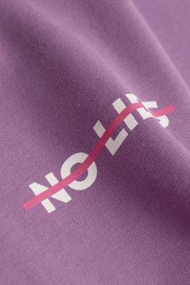 Jersey T-shirt made of 100% organic cotton, LILAC, detail