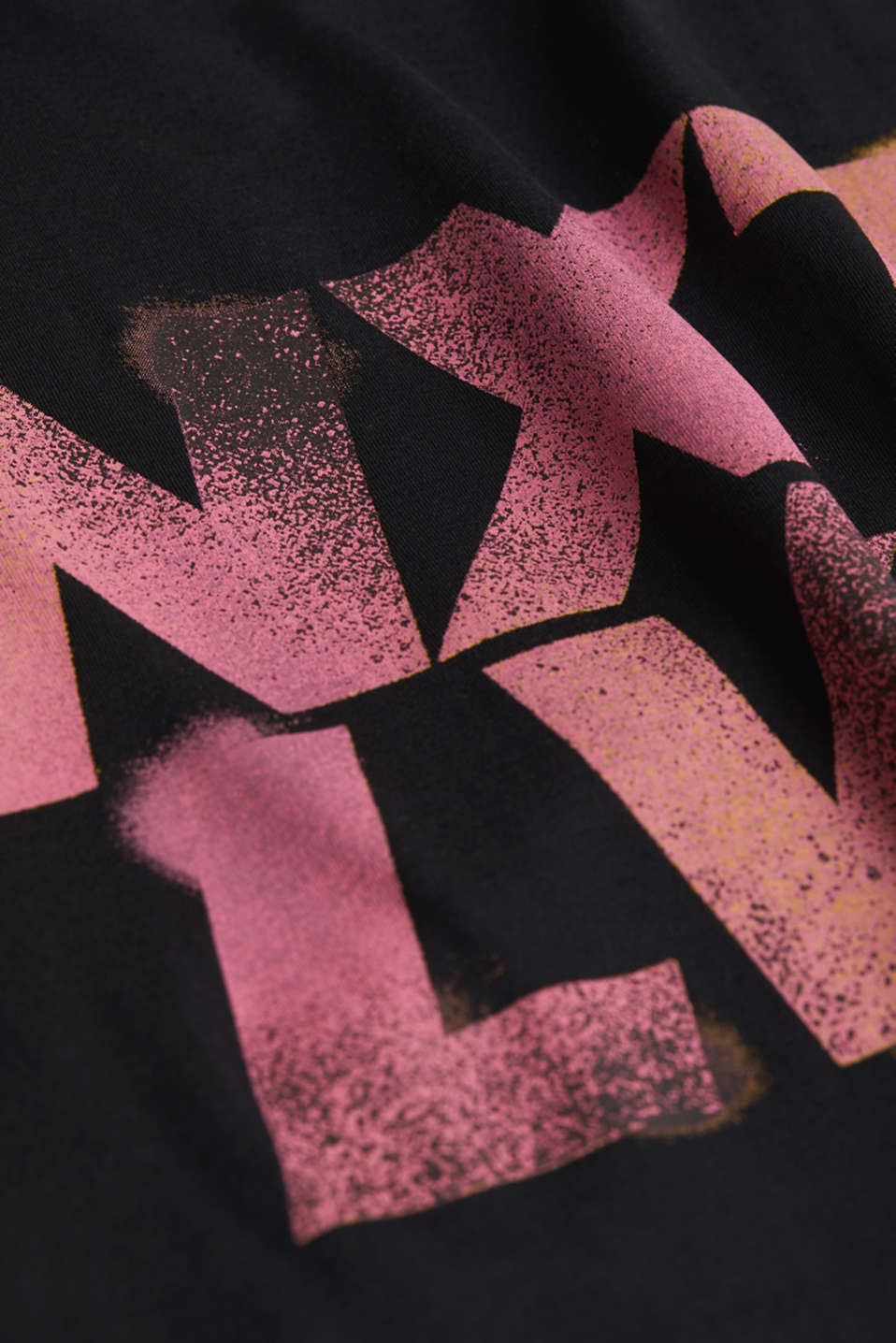 Jersey print top, 100% organic cotton, BLACK, detail image number 4