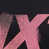 Jersey print top, 100% organic cotton, BLACK, swatch