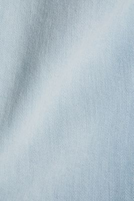 7/8-length jeans with organic cotton, BLUE BLEACHED, detail