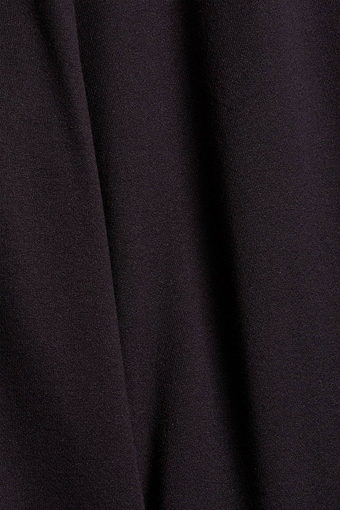 Culotte aus Crêpe-Jersey mit elastischem Bund, BLACK, detail image number 4