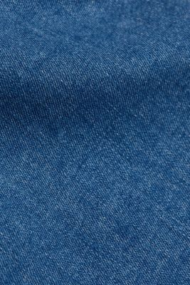 Stretch jeans containing organic cotton, BLUE MEDIUM WASHED, detail