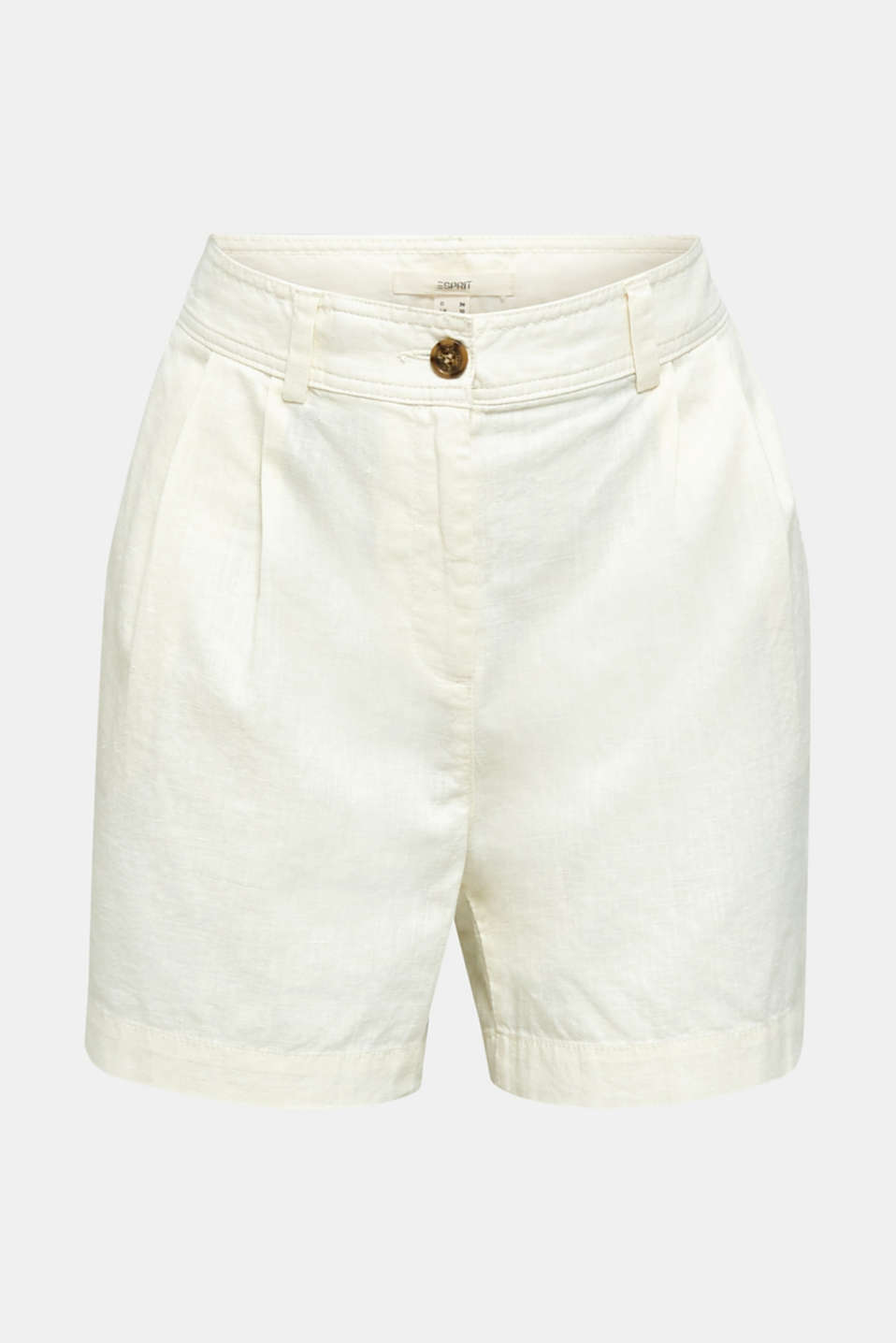 Shorts with organic cotton, OFF WHITE, detail image number 5