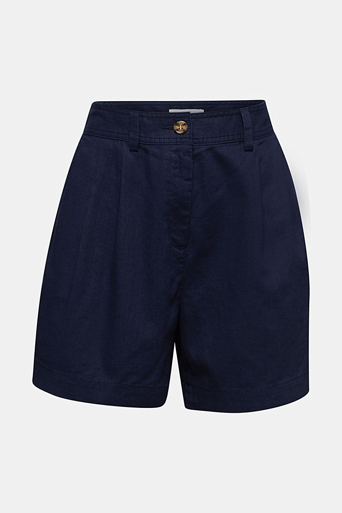 Shorts with organic cotton, NAVY, detail image number 7
