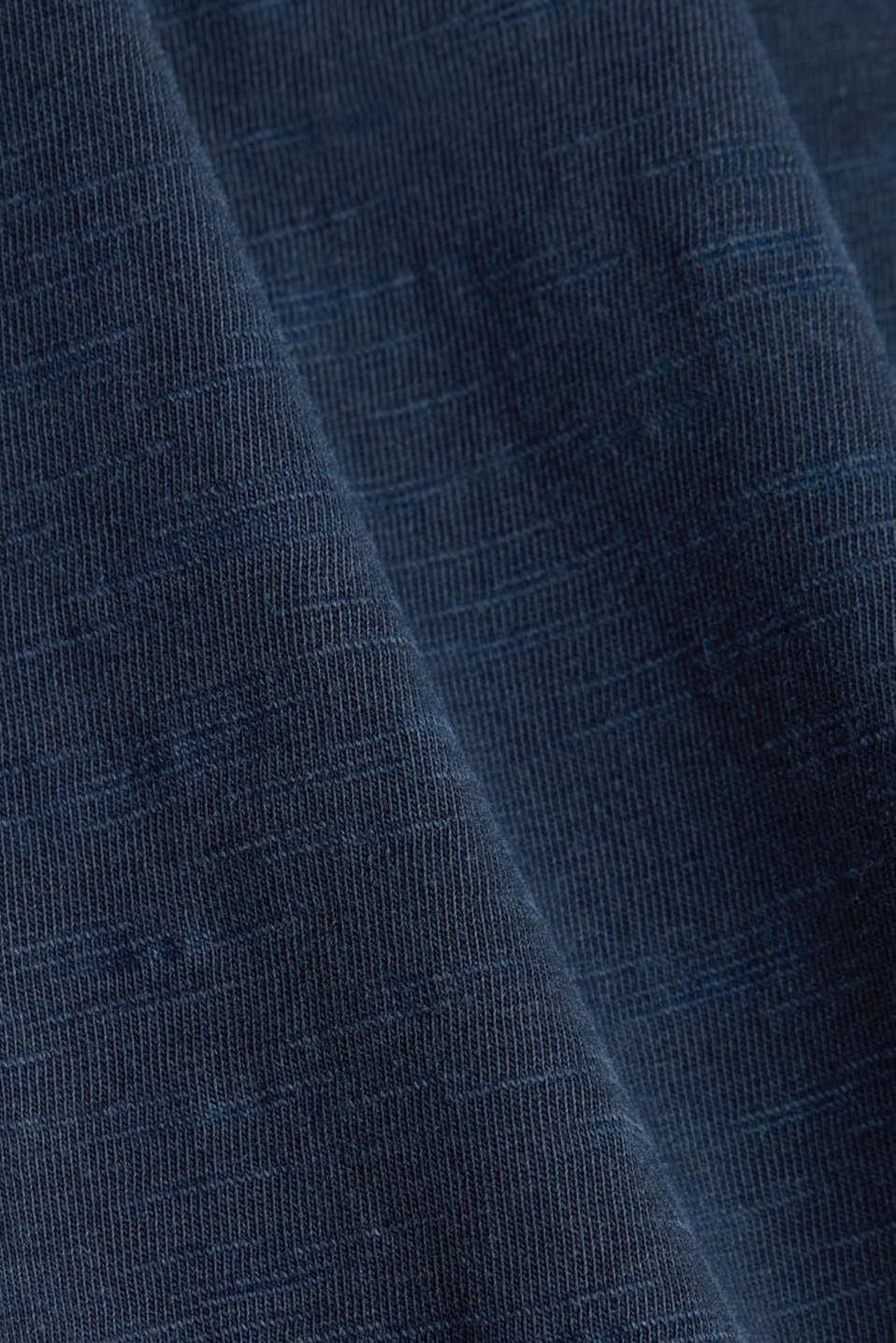 Jersey maxi skirt, 100% organic cotton, NAVY, detail image number 4