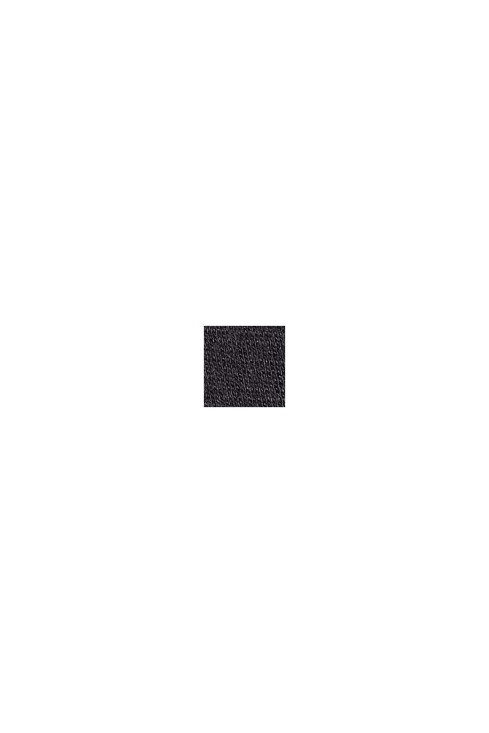 Minigonna svasata in jersey, BLACK, swatch
