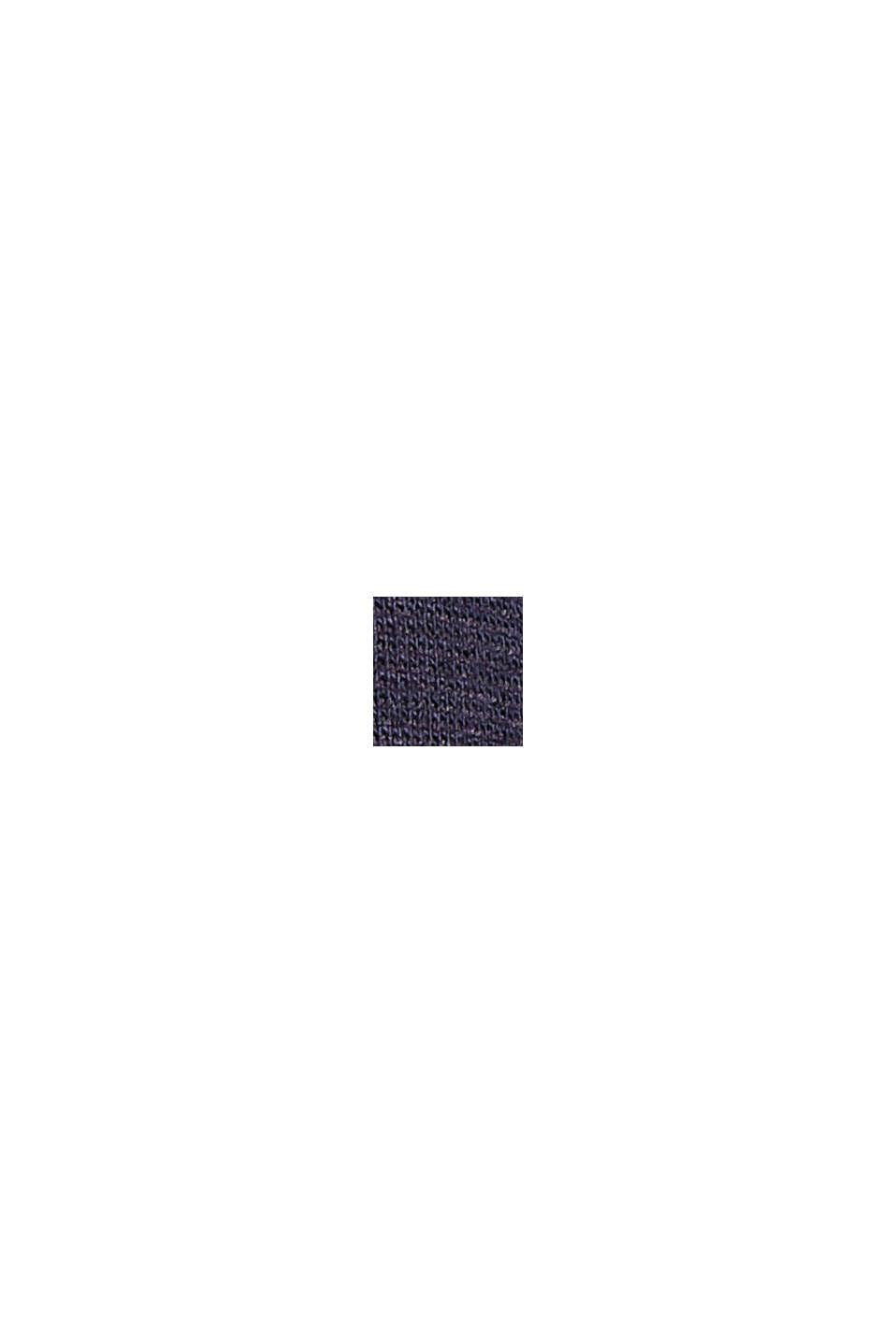 Minigonna svasata in jersey, NAVY, swatch