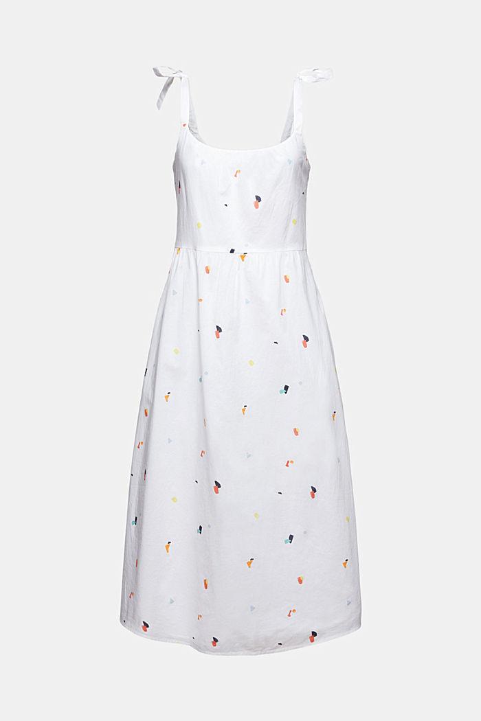 Kleid mit Bindeträgern, 100% Bio-Baumwolle