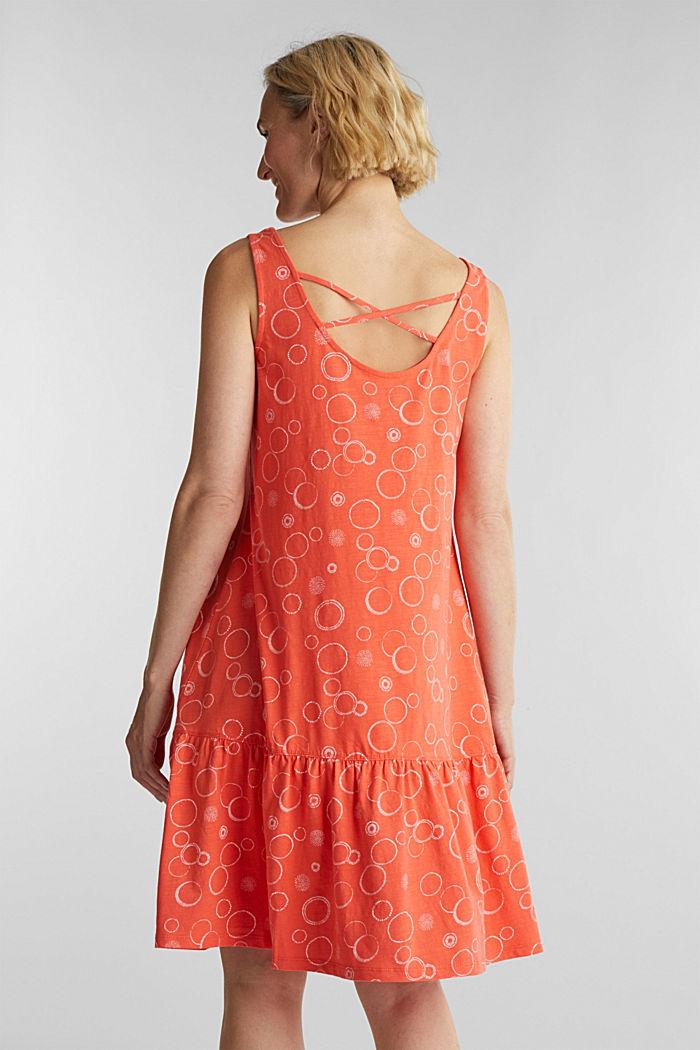 Jersey-Kleid aus 100% Bio-Baumwolle
