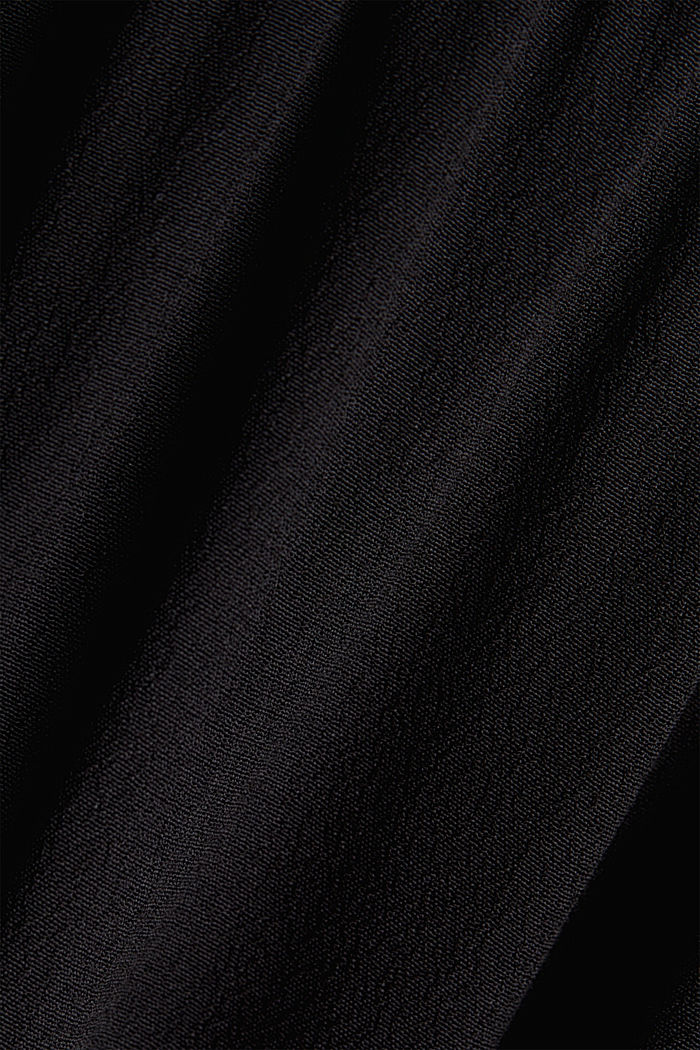 Dress made of LENZING™ ECOVERO™, BLACK, detail image number 4
