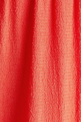 Dress made of LENZING™ ECOVERO™, CORAL, detail