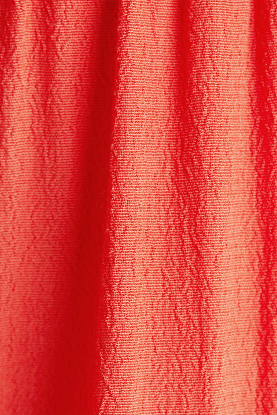Dress made of LENZING™ ECOVERO™, CORAL, detail image number 4