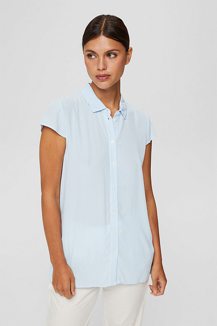 Blouse top with LENZING™ ECOVERO™