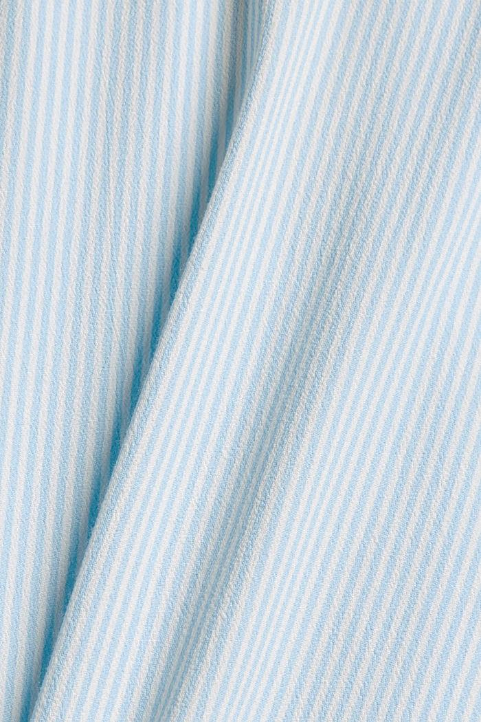 Halenkový top s vlákny LENZING™ ECOVERO™, LIGHT BLUE, detail image number 4