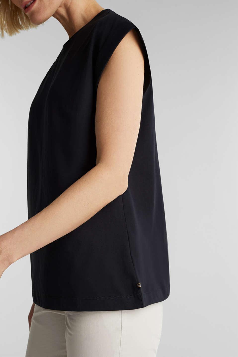 100% cotton T-shirt, BLACK, detail image number 2
