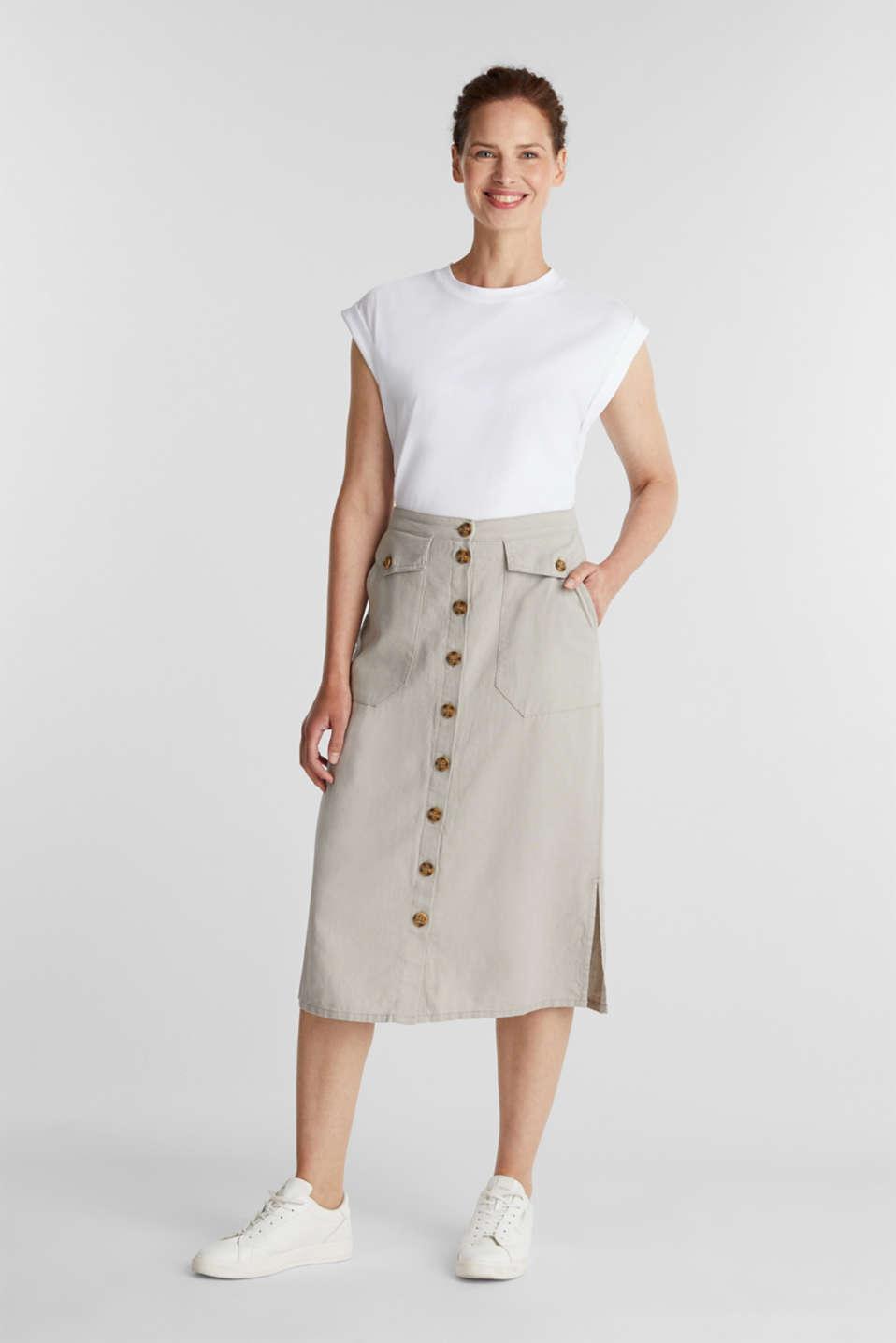 100% cotton T-shirt, WHITE, detail image number 1