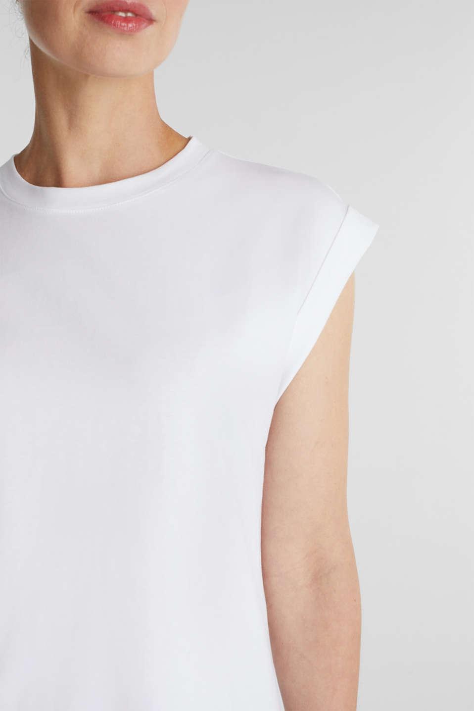 100% cotton T-shirt, WHITE, detail image number 2