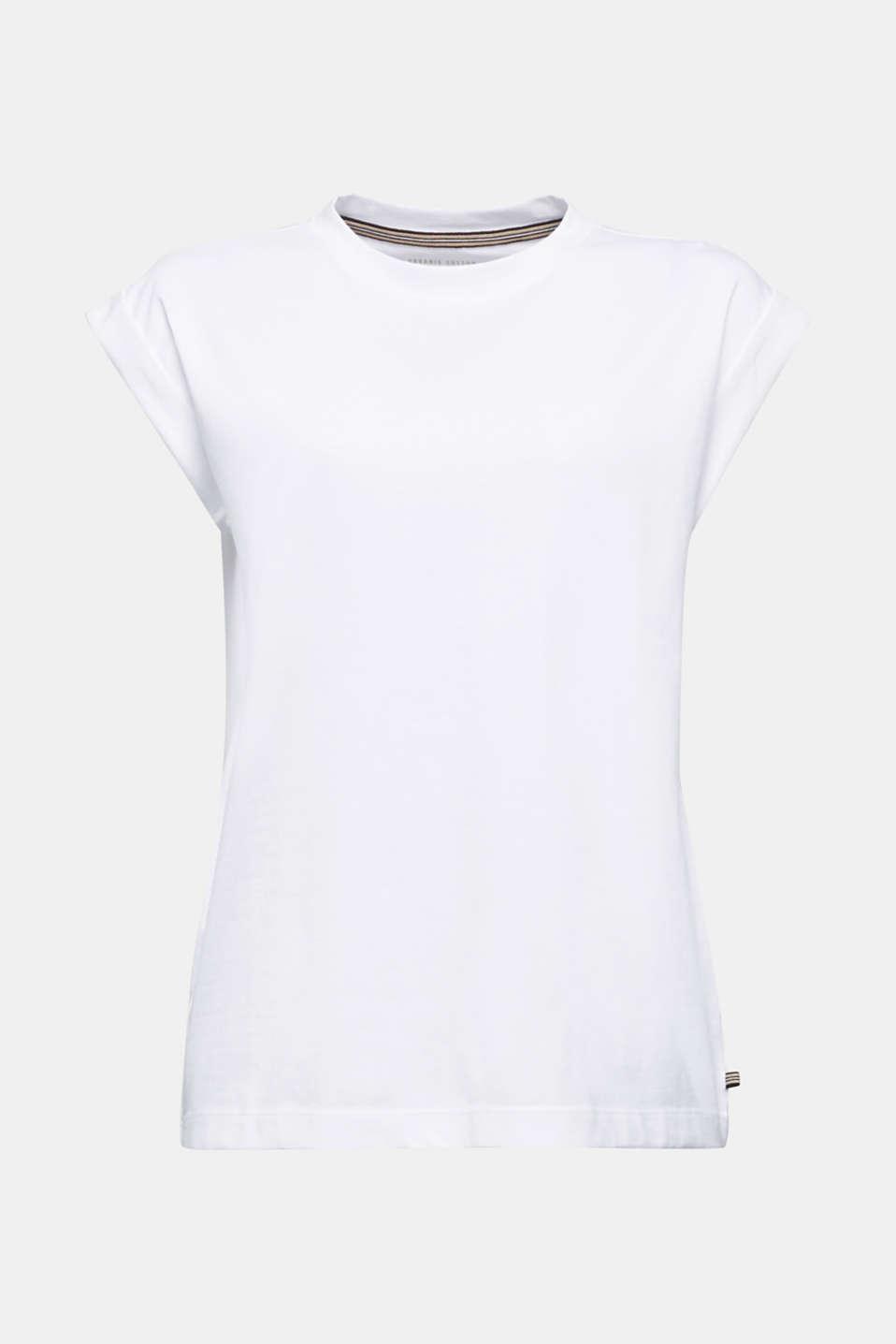 100% cotton T-shirt, WHITE, detail image number 6