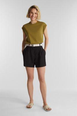 100% cotton T-shirt, OLIVE 4, detail
