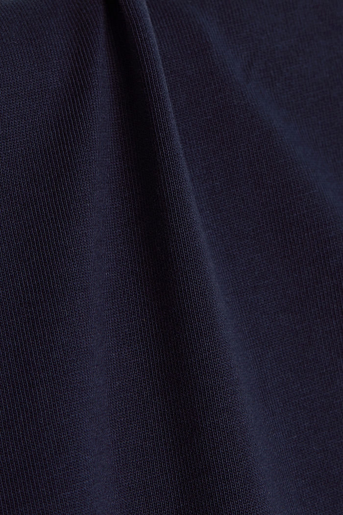 100% cotton T-shirt, NAVY, detail image number 4