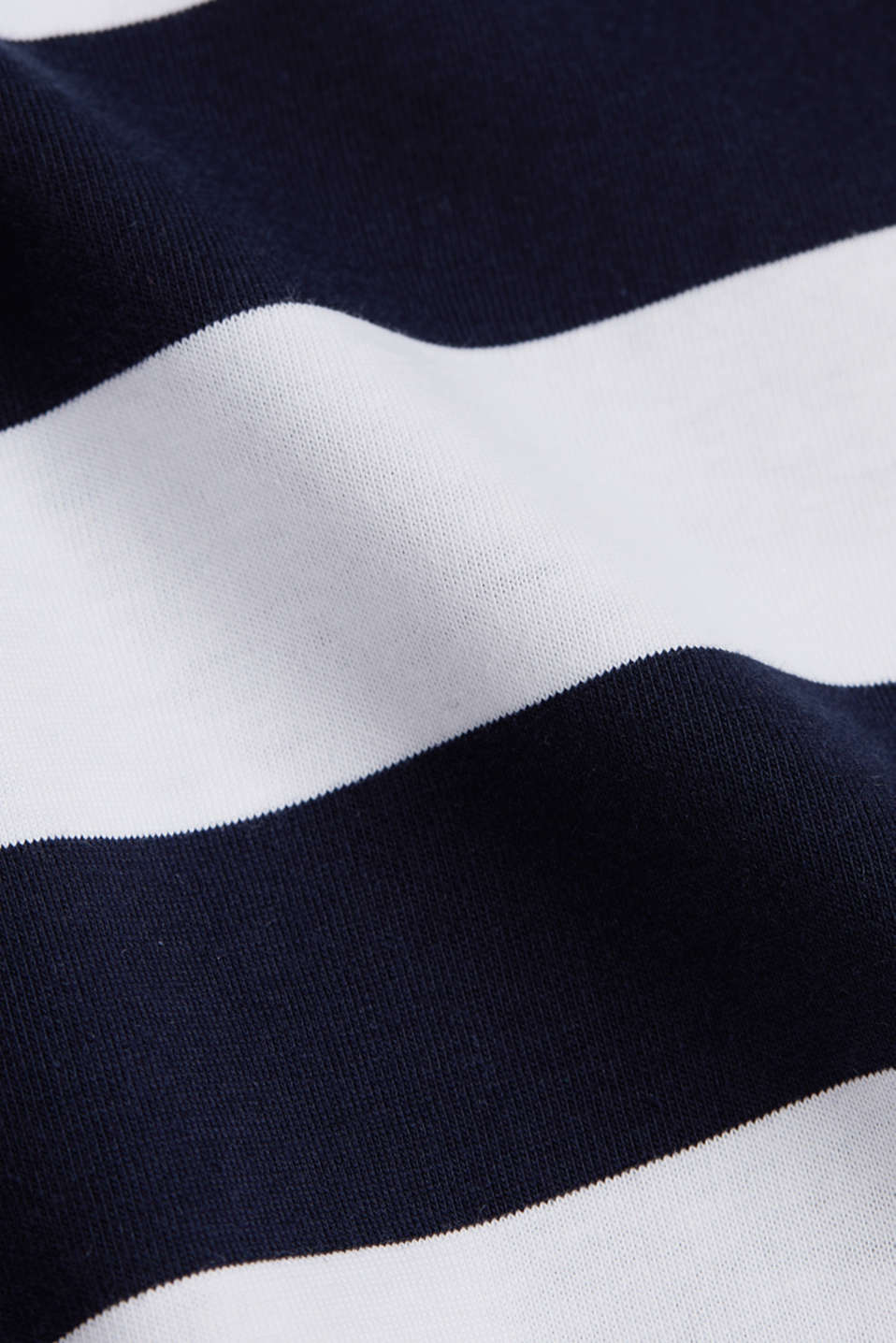 Striped T-shirt, 100% cotton, NAVY, detail image number 4