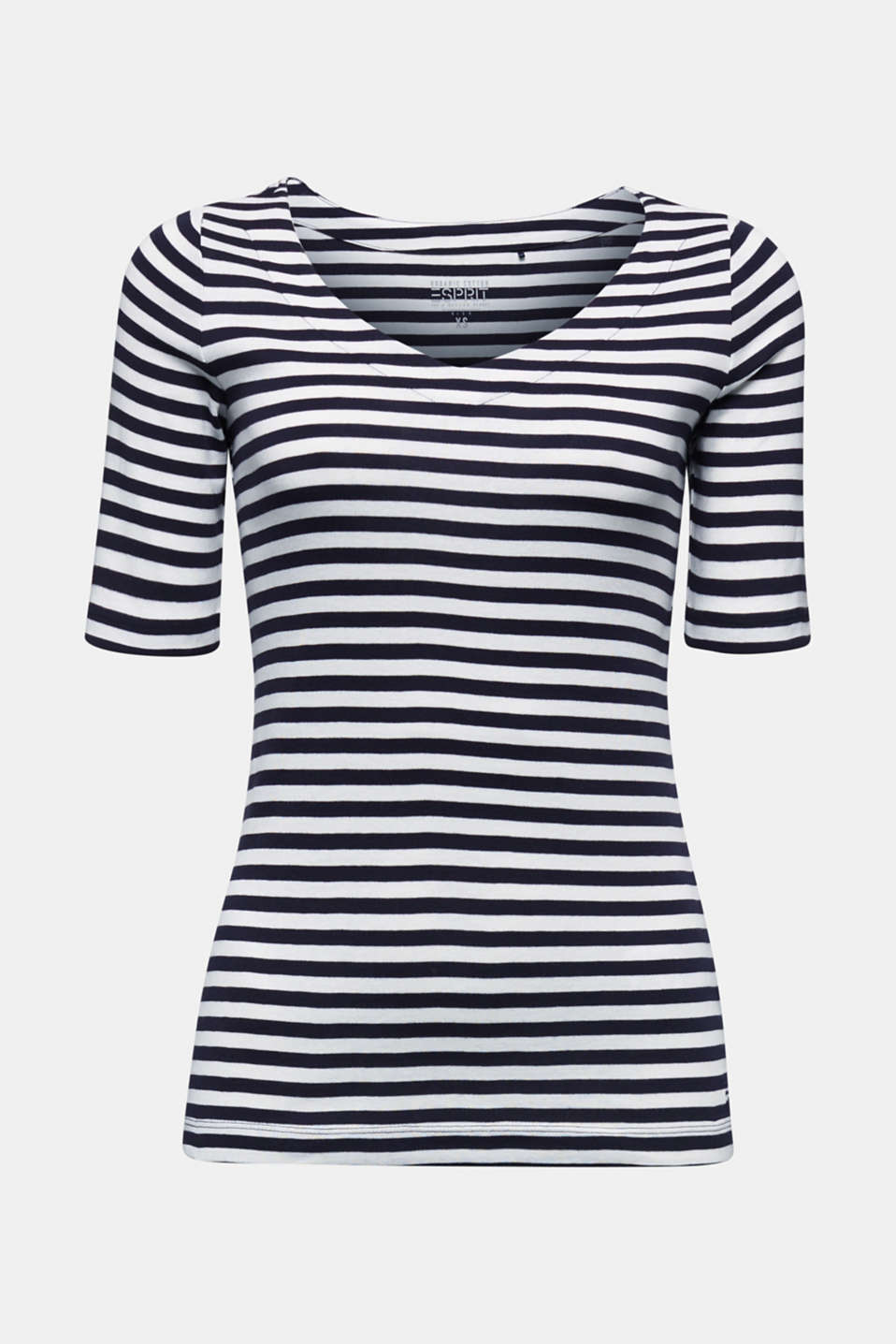 Jersey top made of 100% organic cotton, NAVY, detail image number 6