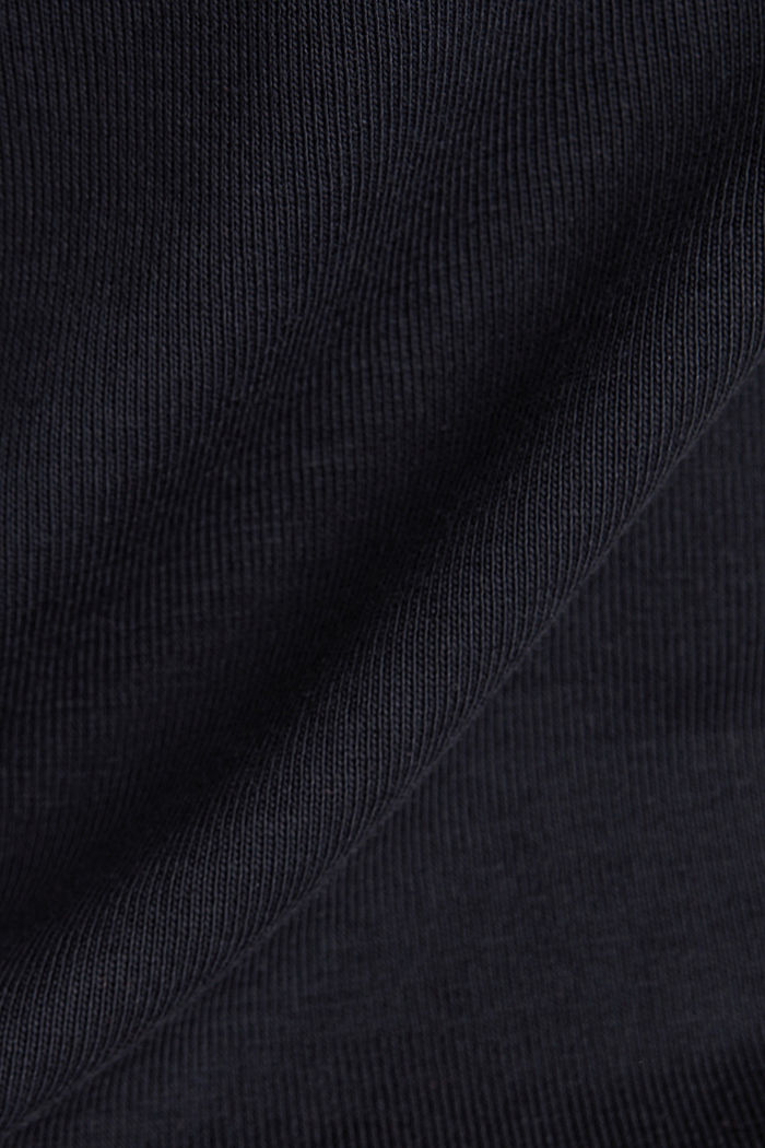 T-shirt made of 100% organic cotton, BLACK, detail image number 4