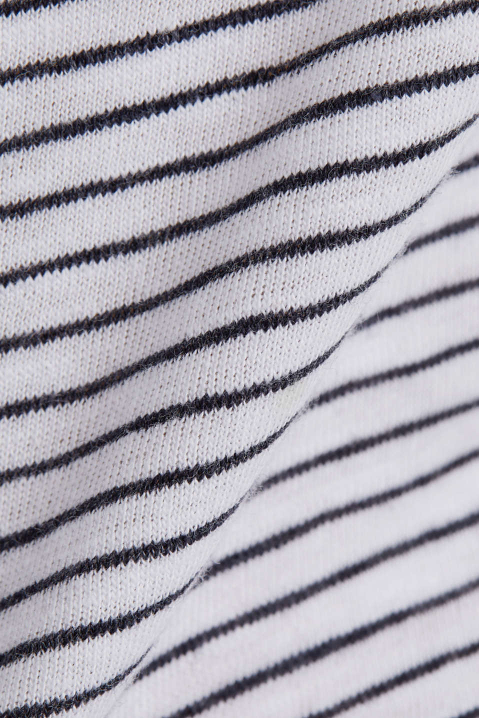 T-shirt with a striped print, WHITE, detail image number 4
