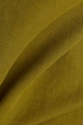 Sleeveless top with a button placket, OLIVE, detail