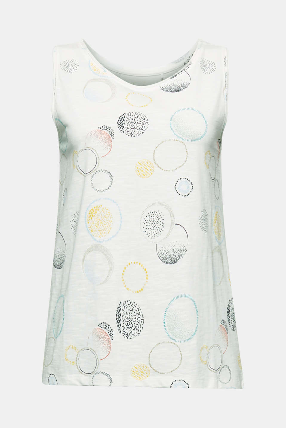 Jersey top made of 100% organic cotton, OFF WHITE 2, detail image number 5
