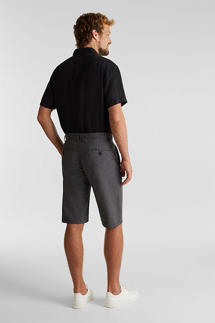 Shorts aus 100% Organic Cotton, ANTHRACITE, detail image number 3