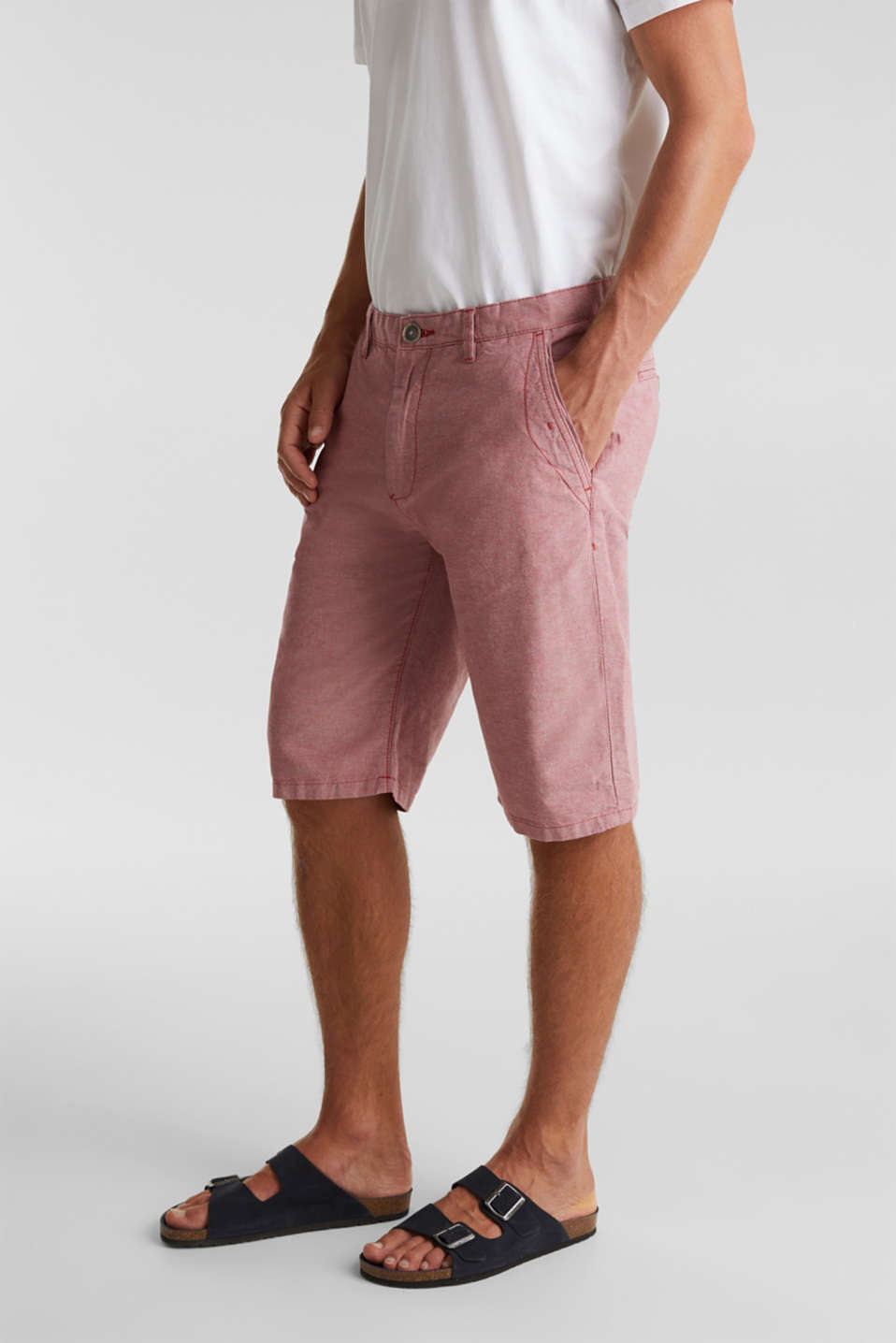 Esprit - Short van 100% organic cotton