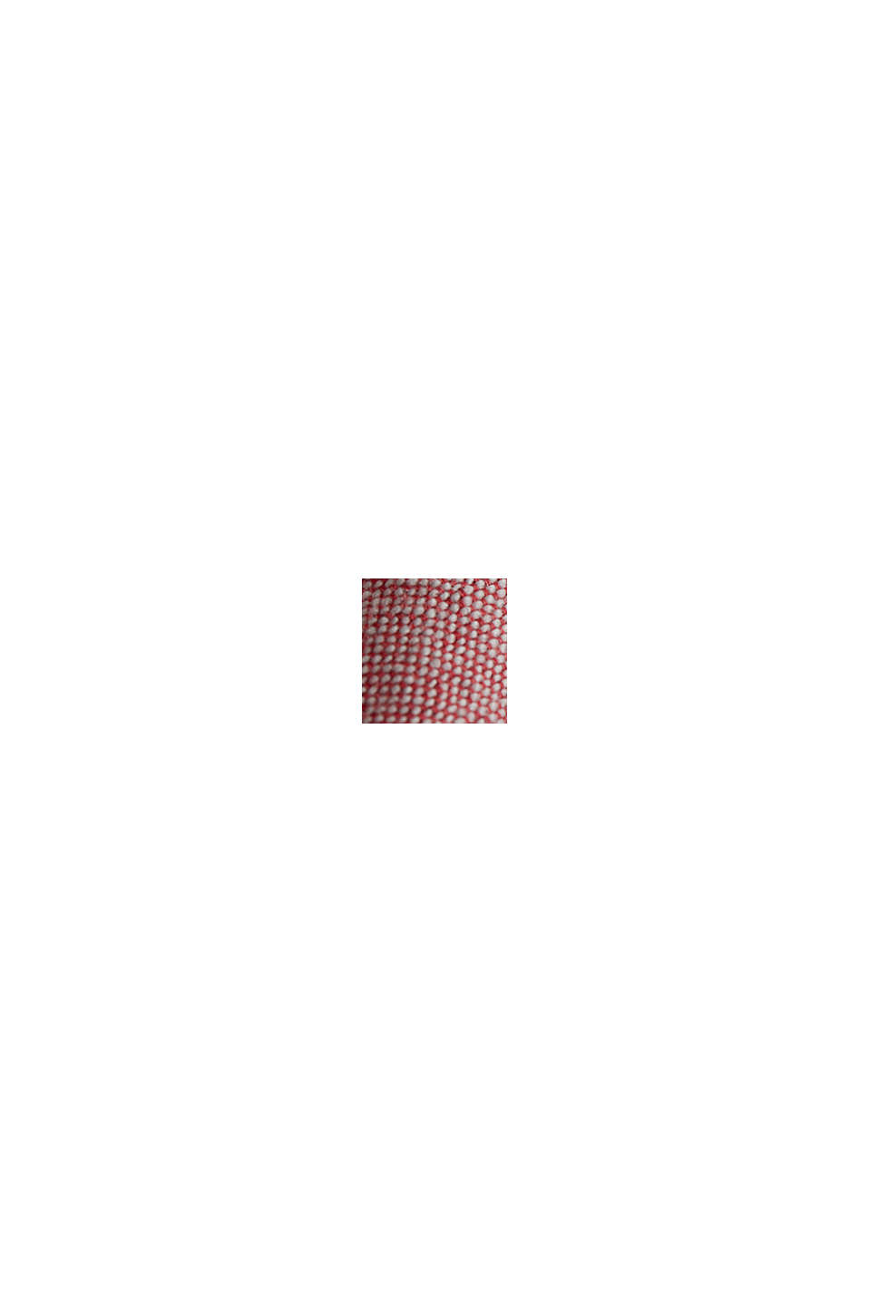 Shorts aus 100% Organic Cotton, ORANGE RED, swatch
