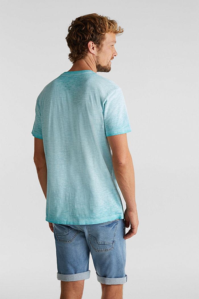 Jersey-Shirt aus 100% Organic Cotton, LIGHT BLUE, detail image number 3