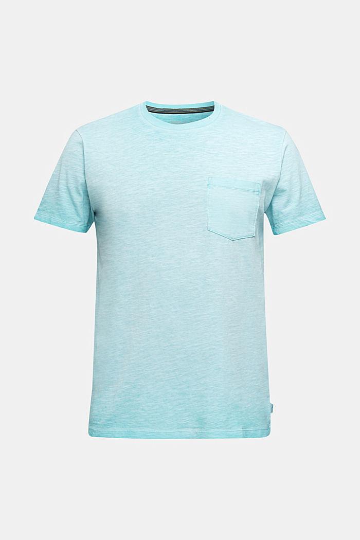 Jersey-Shirt aus 100% Organic Cotton, LIGHT BLUE, detail image number 5