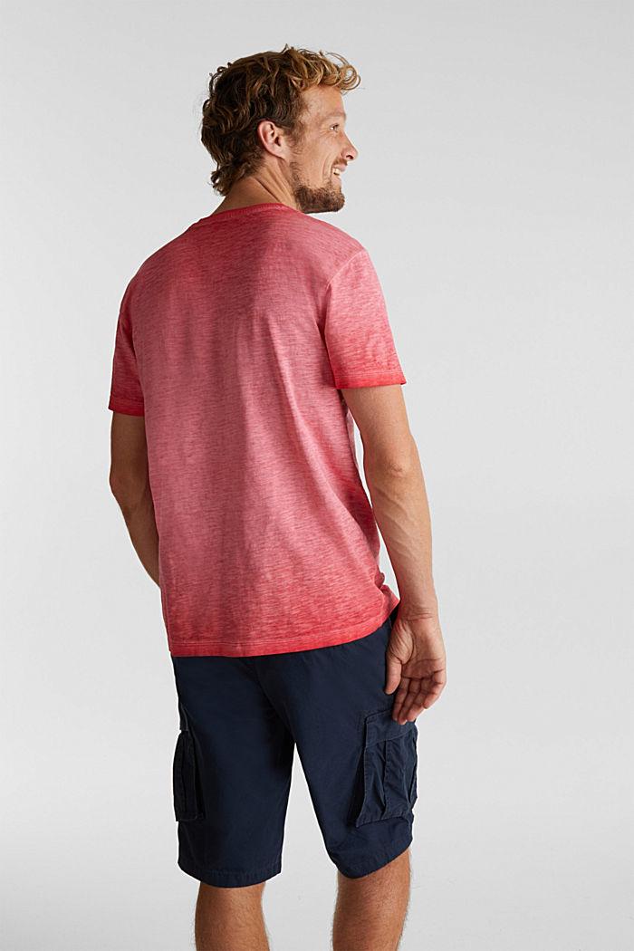 Jersey-Shirt aus 100% Organic Cotton, RED, detail image number 3