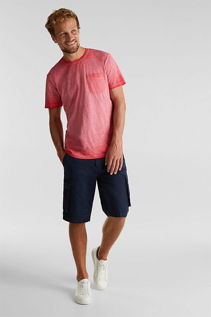 Jersey-Shirt aus 100% Organic Cotton, RED, detail image number 2